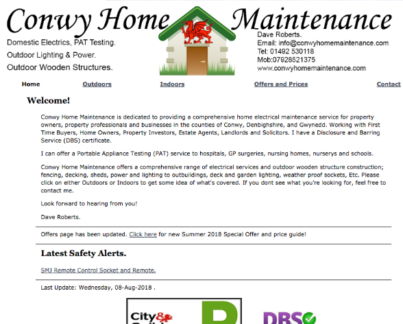 Conwy Home Maintenance