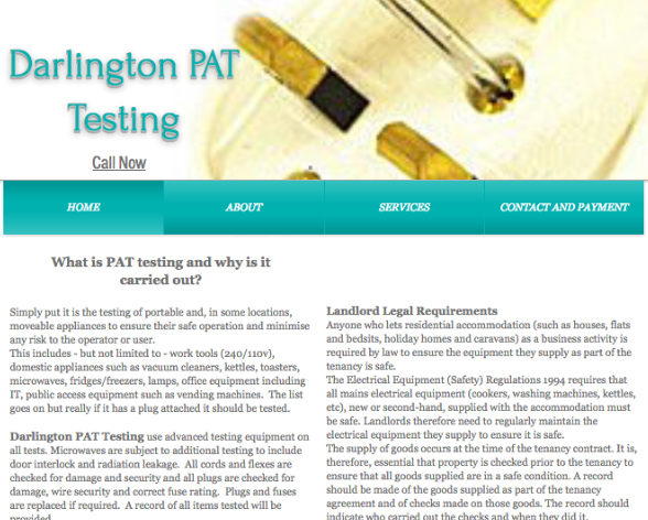Darlington PAT Testing