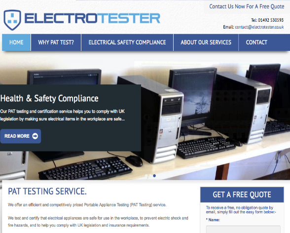 Electrotester