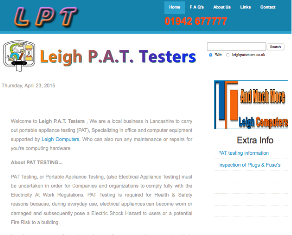 LeighPatTesters