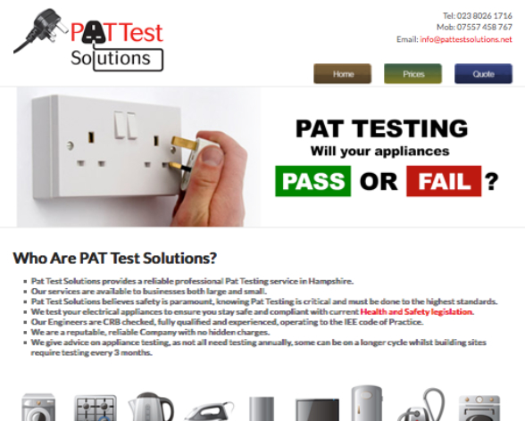 Pat Test Solutions