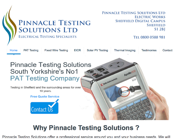 Pinnacle Testing Solutions Ltd