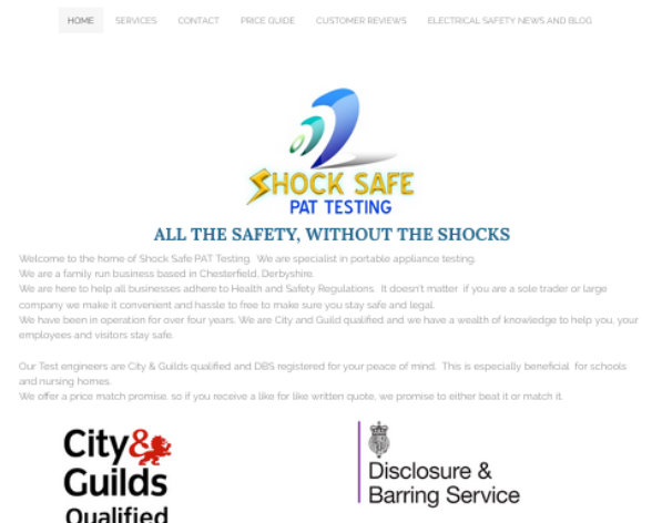 Shock Safe PAT Testing